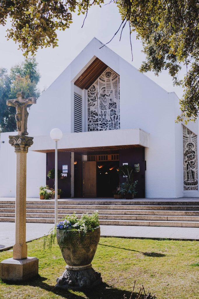 Boda Enrique y Belen casa de el novio. Iglesia